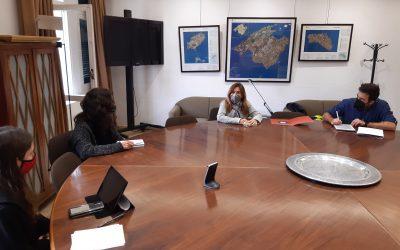 La Representación del CSIC en las Illes Balears se reúne con el Departament de Sostenibilitat i Medi Ambient del Consell de Mallorca