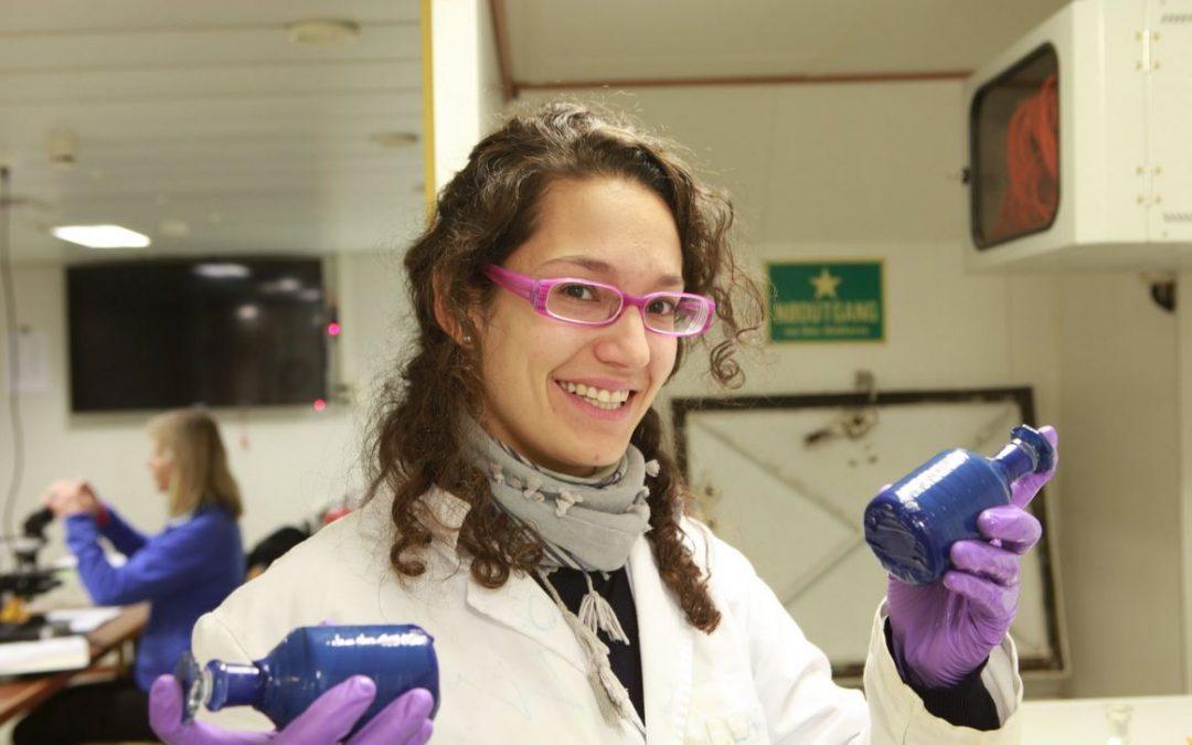 Marina Sanz del IMEDEA (CSIC-UIB), semifinalista de FameLab España 2018