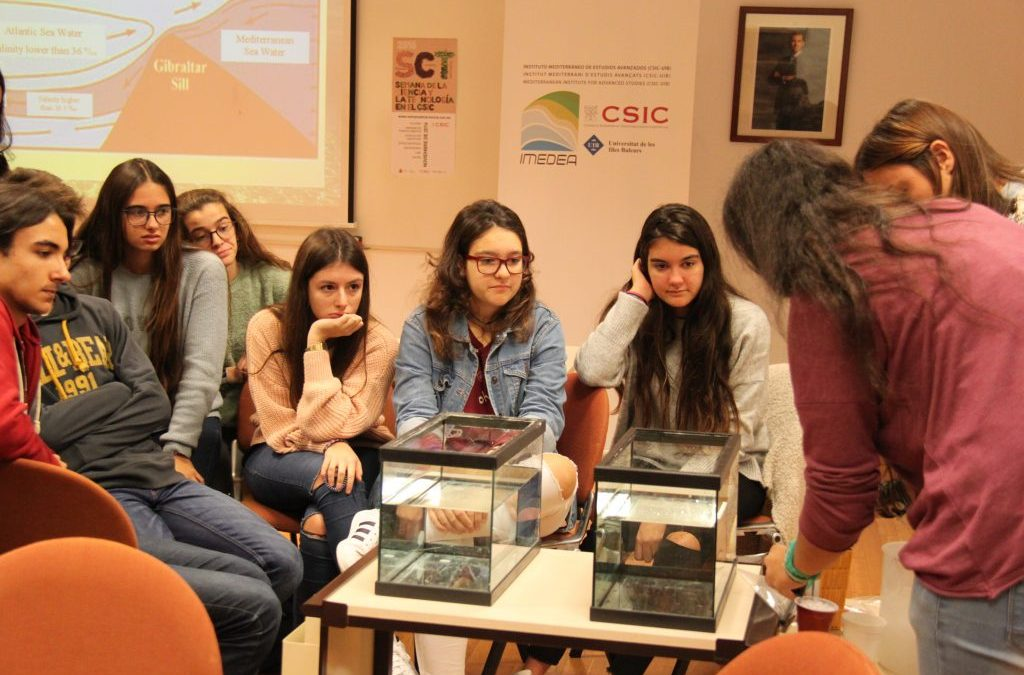 400 alumnos participan en las actividades de la Semana de la Ciencia y la Tecnología del CSIC en las Illes Balears