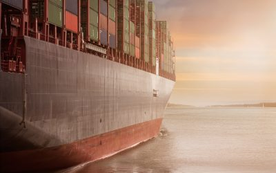 La COVID-19 provoca importantes reducciones del tráfico marítimo en el mar Mediterráneo