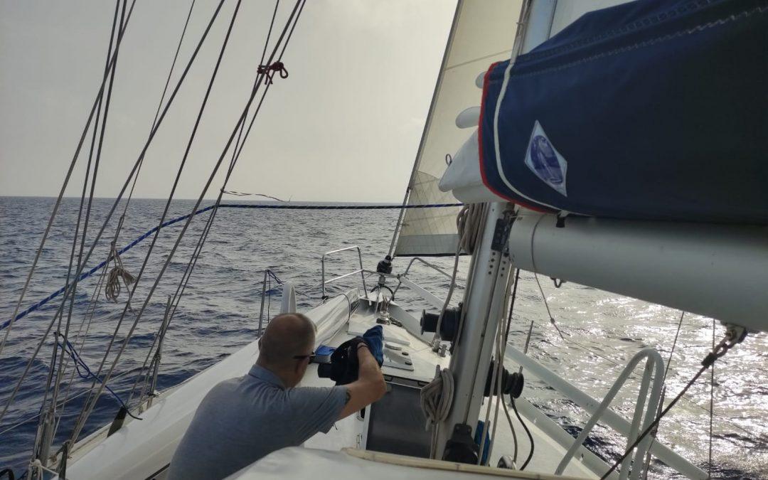 La expedición MEDNIGHT, en colaboración con el CSIC, inicia el rodaje de un documental de divulgación científica sobre el Mediterráneo
