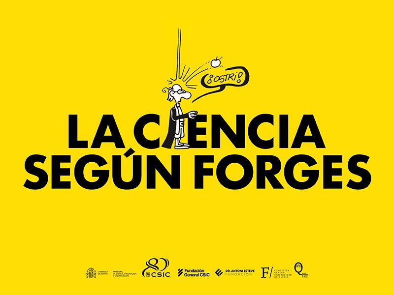 'La Ciencia según Forges' en el Festival Comic Nostrum 2021